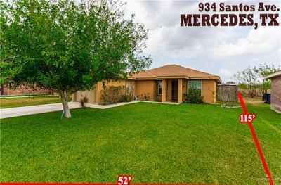 934 SANTOS AVE, MERCEDES, TX 78570 - Photo 1