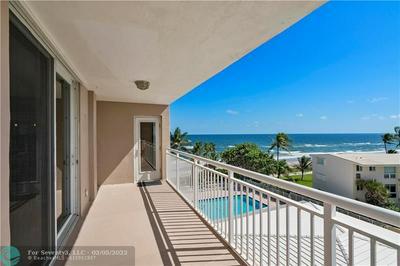 1051 HILLSBORO MILE APT 502E, Hillsboro Beach, FL 33062 - Photo 1
