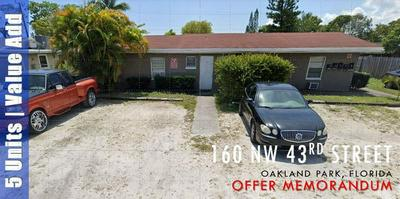 160 NW 43RD ST, Oakland Park, FL 33309 - Photo 1