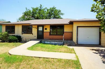 1404 E REPPTO ST, Brownfield, TX 79316 - Photo 1
