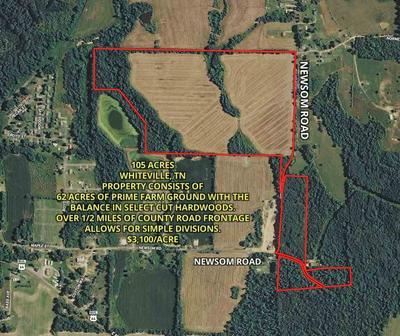NEWSOM RD, Whiteville, TN 38075 - Photo 1