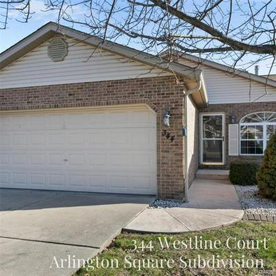 344 WESTLINE CT, Shiloh, IL 62221 - Photo 1