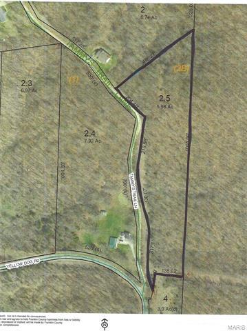 5 .98 ACRES TAMMYS TRAIL, LONEDELL, MO 63060 - Photo 1