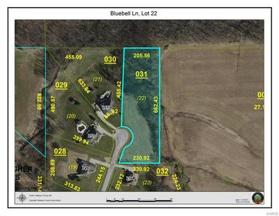 0 BLUEBELL LANE #LOT 22, Highland, IL 62249 - Photo 1