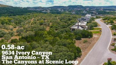9634 IVORY CYN, San Antonio, TX 78255 - Photo 1
