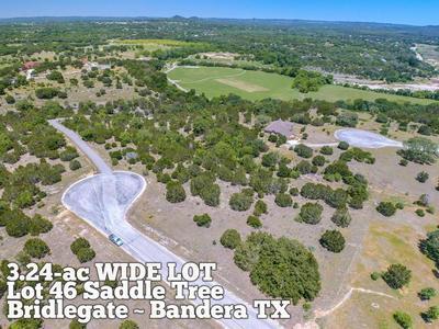 LOT 46 SADDLE TREE, Bandera, TX 78003 - Photo 1