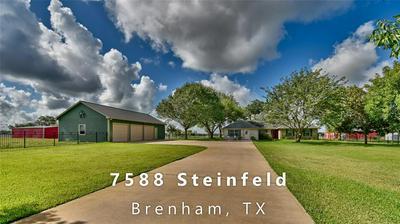 7588 STEINFELD LN, Brenham, TX 77833 - Photo 1
