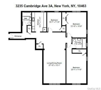 3235 CAMBRIDGE AVE APT 3A, BRONX, NY 10463 - Photo 2