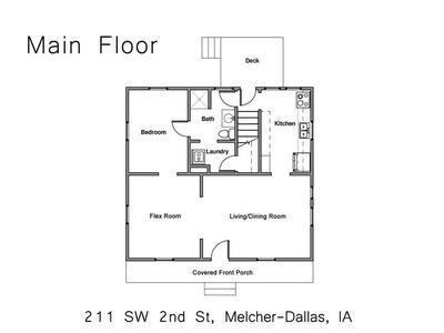 211 SW 2ND ST, Melcher-Dallas, IA 50163 - Photo 2