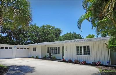 729 INDIAN BEACH CIR, Sarasota, FL 34234 - Photo 1