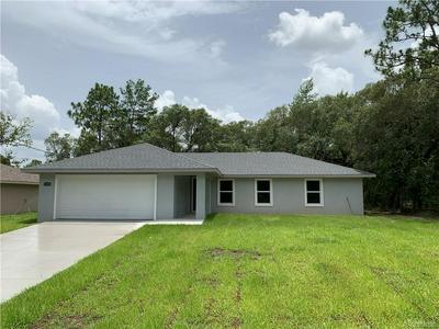 3130 W DORONICUM PL, Citrus Springs, FL 34433 - Photo 1