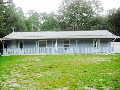 101 HAMMOCK RD, Inglis, FL 34449 - Photo 1