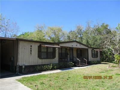 8461 W CRANE CT, HOMOSASSA, FL 34448 - Photo 1