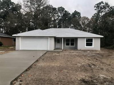 3456 W WEBSTER PL, Citrus Springs, FL 34433 - Photo 1