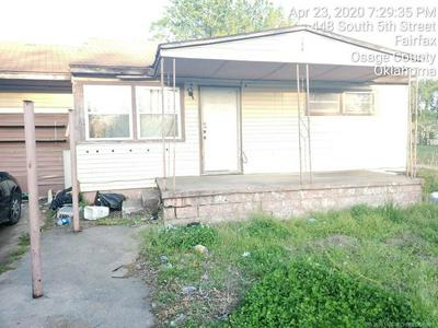 456 S 5TH ST, Fairfax, OK 74637 - Photo 1