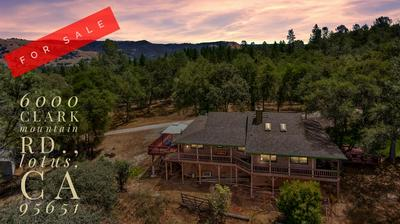 6000 CLARK MOUNTAIN RD, Lotus, CA 95651 - Photo 1