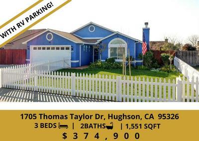 1705 THOMAS TAYLOR DR, Hughson, CA 95326 - Photo 1
