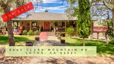 6000 CLARK MOUNTAIN RD, Lotus, CA 95651 - Photo 2