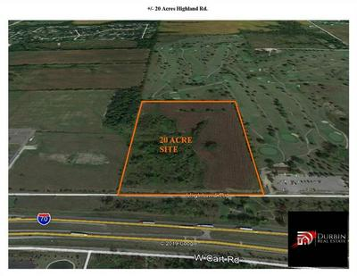 20 ACRES HIGHLAND RD ROAD, Richmond, IN 47374 - Photo 1