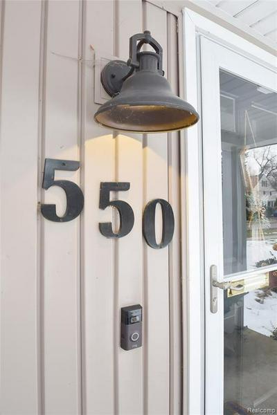 550 HENLEY ST, BIRMINGHAM, MI 48009 - Photo 2