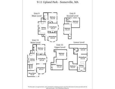 9 UPLAND PARK # 11, Somerville, MA 02145 - Photo 2