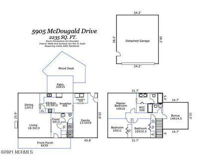 5905 MCDOUGALD DR, Castle Hayne, NC 28429 - Photo 2