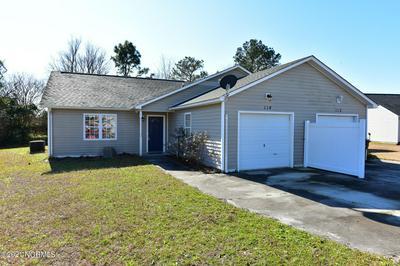 114 CHARLTON RD, Hubert, NC 28539 - Photo 1