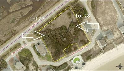 LOT 27 HAMPTON COLONY CIRCLE, NORTH TOPSAIL BEACH, NC 28460 - Photo 1
