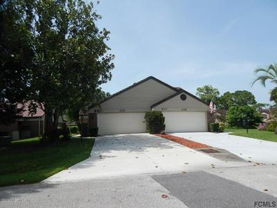 232 PALM SPARROW CT, DAYTONA BEACH, FL 32119 - Photo 1