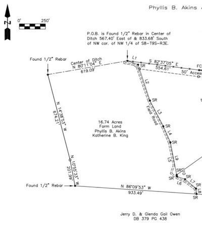 (16.74 ACRES) BRASSFIELD ROAD, Ecru, MS 38841 - Photo 2