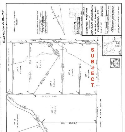 CLARKESVILLE POND ROAD, Clarksville, NH 03592 - Photo 2