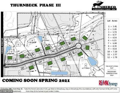 LOT 4 BLK 1 170TH COURT NE, Columbus, MN 55025 - Photo 2