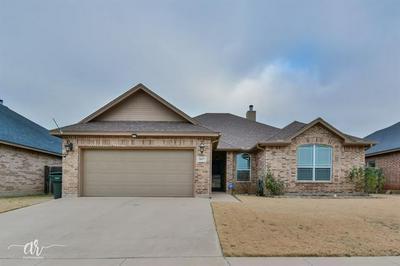 5017 YELLOWSTONE TRL, Abilene, TX 79602 - Photo 1