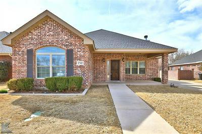 1742 PEMELTON DR, Abilene, TX 79601 - Photo 1