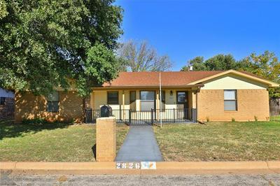 2826 BUTTON WILLOW PKWY, Abilene, TX 79606 - Photo 1