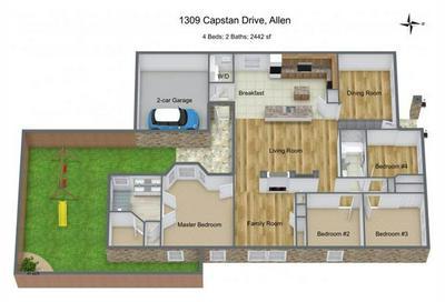 1309 CAPSTAN DR, Allen, TX 75013 - Photo 2