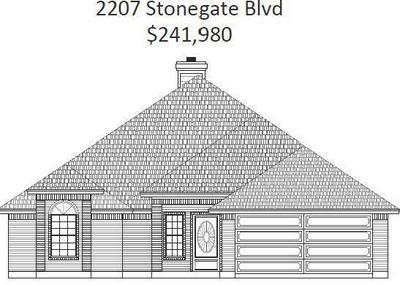 2207 STONEGATE BLVD, Bridgeport, TX 76426 - Photo 1