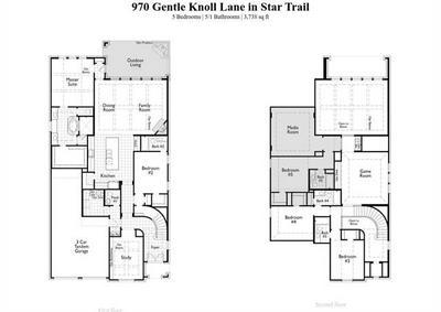 970 GENTLE KNOLL LN, Prosper, TX 75078 - Photo 2