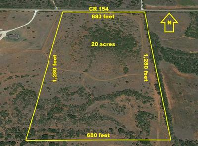 20 AC COUNTY ROAD 154, Tuscola, TX 79562 - Photo 1