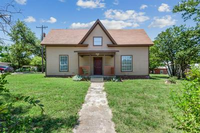 206 S CLEVELAND, Meridian, TX 76665 - Photo 1