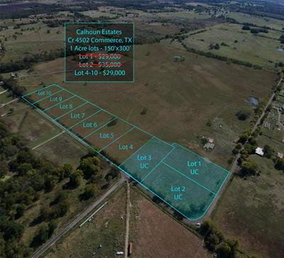 LOT 4 COUNTY ROAD 4502, Commerce, TX 75428 - Photo 2