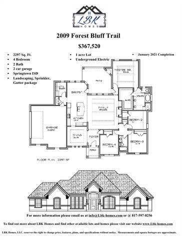 2009 FOREST BLUFF TRAIL, Azle, TX 76020 - Photo 2