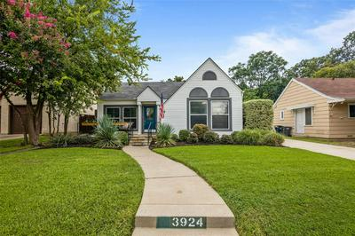 3924 BIRCHMAN AVE, Fort Worth, TX 76107 - Photo 1