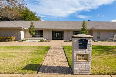 3451 PARK HOLLOW ST, FORT WORTH, TX 76109 - Photo 1