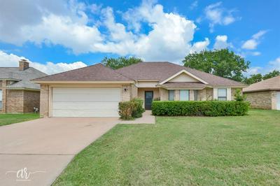 3534 HONEYSUCKLE CT, Abilene, TX 79606 - Photo 1