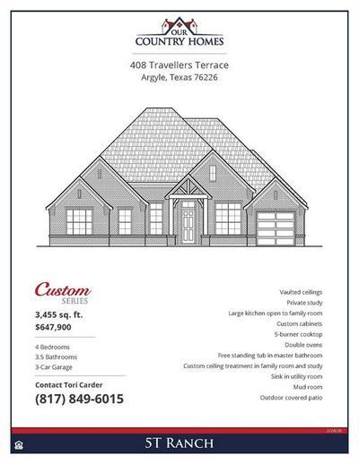 408 TRAVELLER ST, HICKORY CREEK, TX 75065 - Photo 2