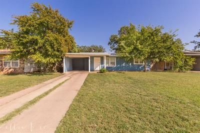 1309 BUCCANEER DR, Abilene, TX 79605 - Photo 1