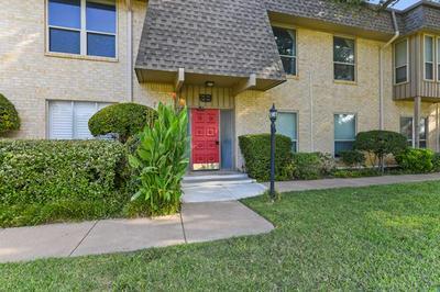 4320 BELLAIRE DR S APT 106W, Fort Worth, TX 76109 - Photo 1