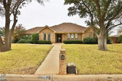 20 HOYLAKE DR, Abilene, TX 79606 - Photo 1