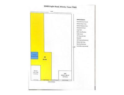 XXXX ENGLIN RD, Winnie, TX 77665 - Photo 1
